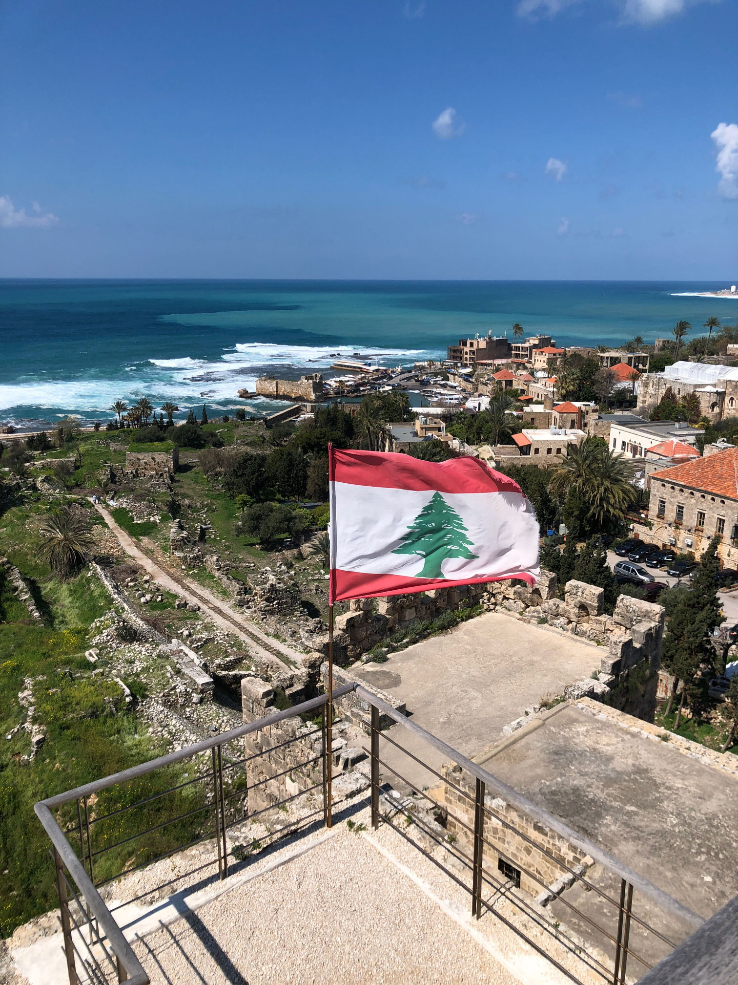 It was so beautiful we even had a day trip in Byblos, one of the oldest cities in the world. Photo credit: Arguin, 2019