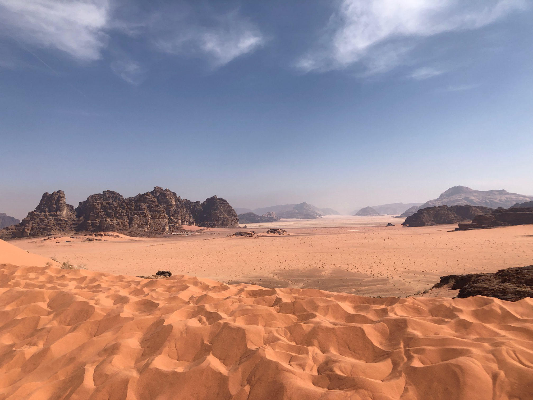 We also spent a night in Wadi Rum and got to see where the movie  The Martian  was filmed. Photo credit: Arguin, 2019