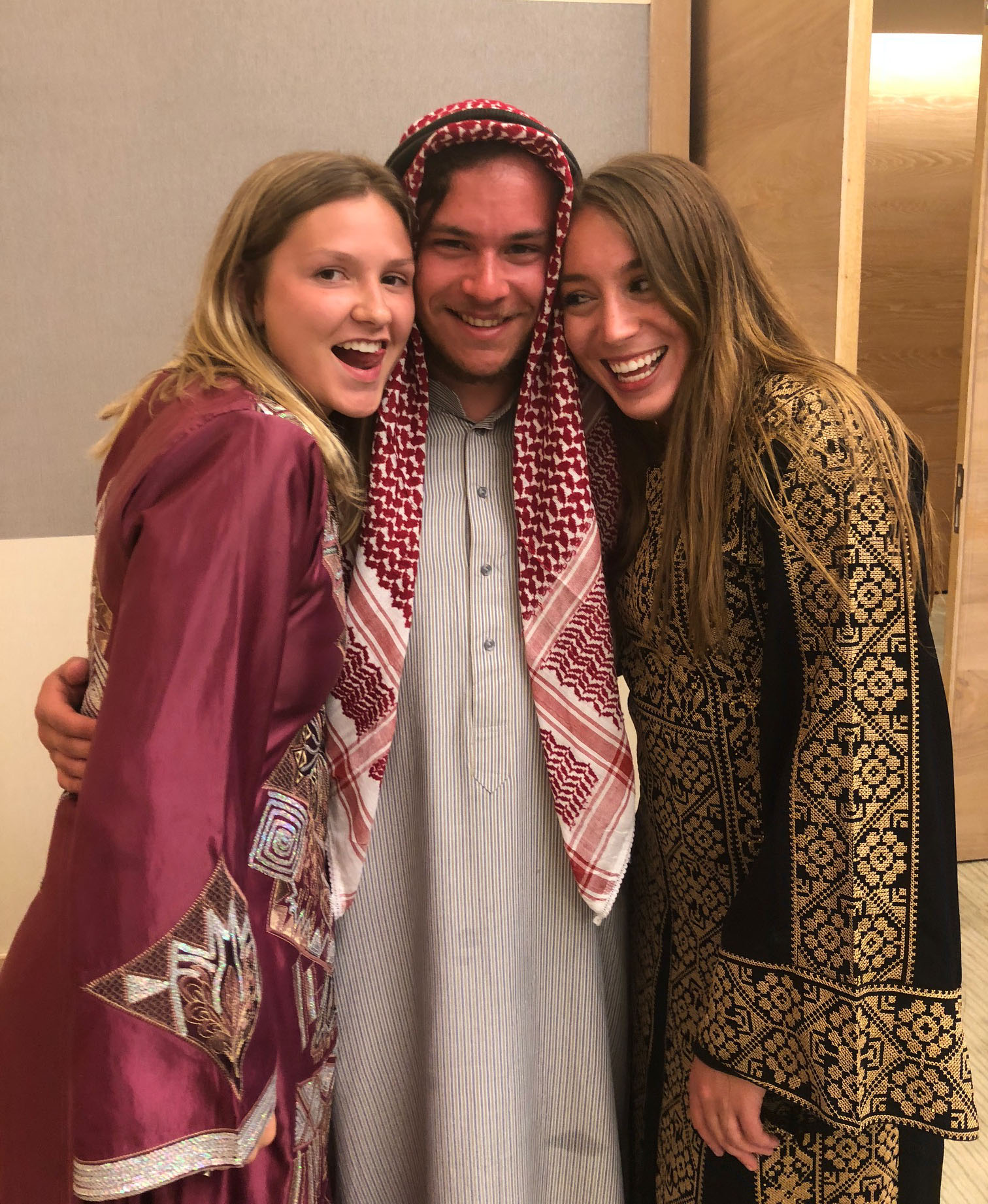We also had a traditional Jordanian wedding hosted by our Arabic professors. Photo credit: Arguin, 2019