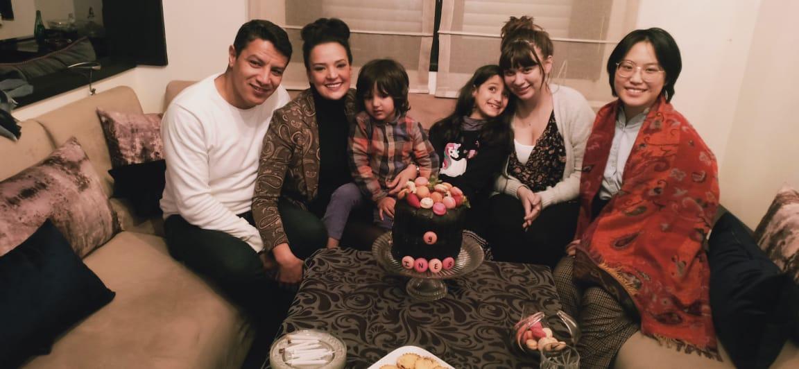 My wonderful host family! Photo credit: Kirkpatrick, 2019