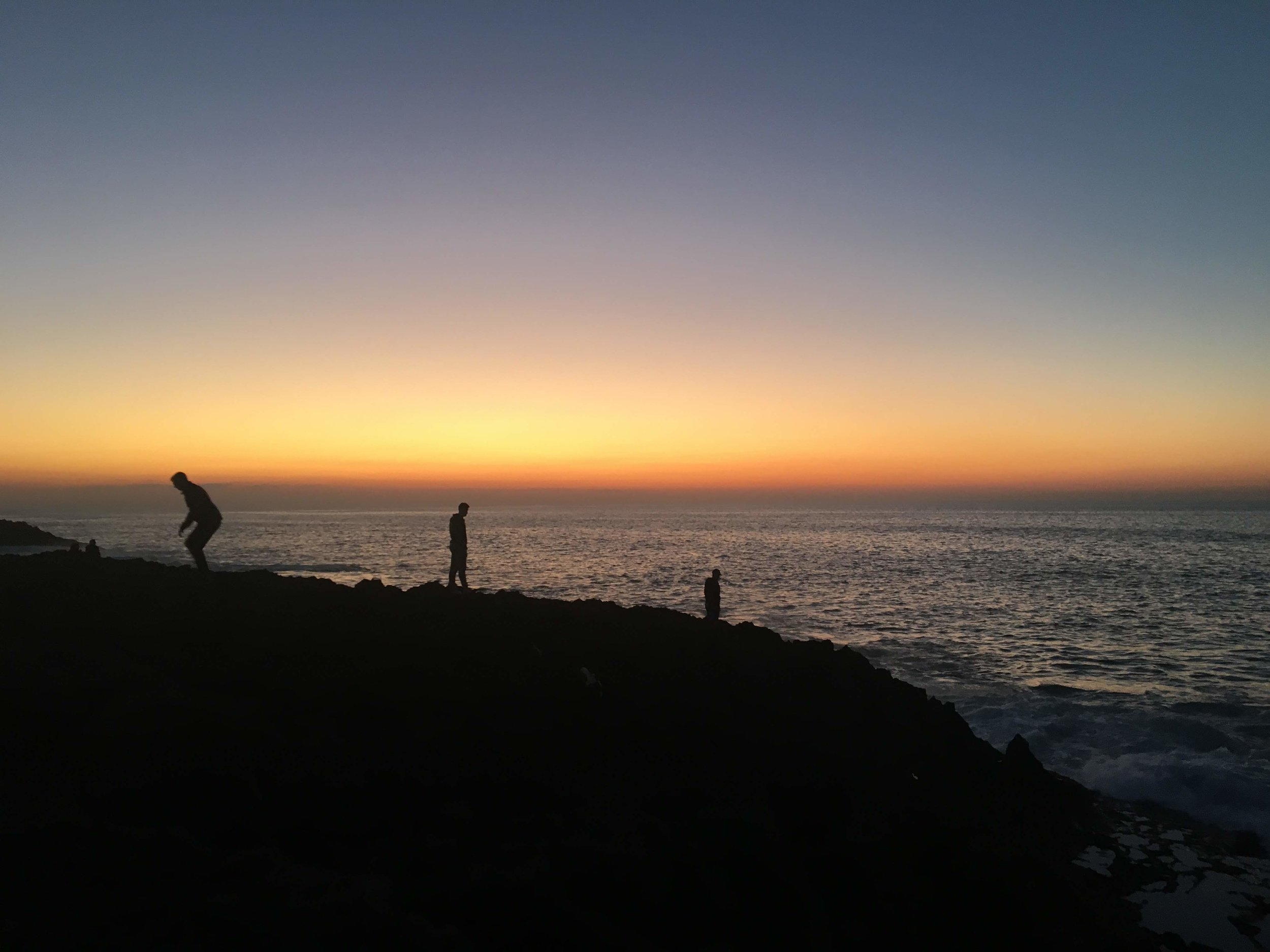 The Rabat sunsets are to die for! It is a beautiful place to sit and stare over the open water. Sitting and reading here while watching the sunsets is one of the most incredible things I've had the opportunity to do in Rabat. Photo credit: Fisher, 2019