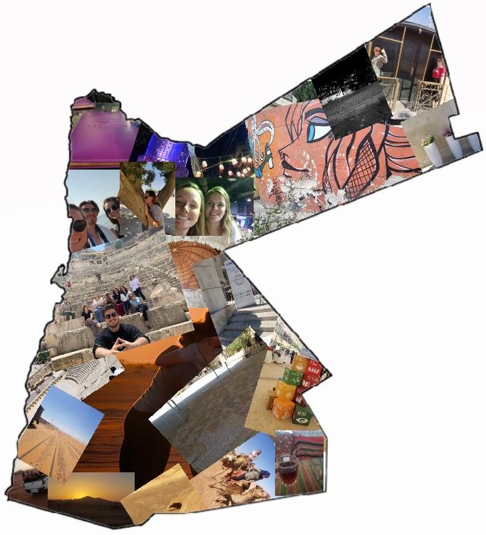 Jordan Map. Photo credit: Morrill, 2019