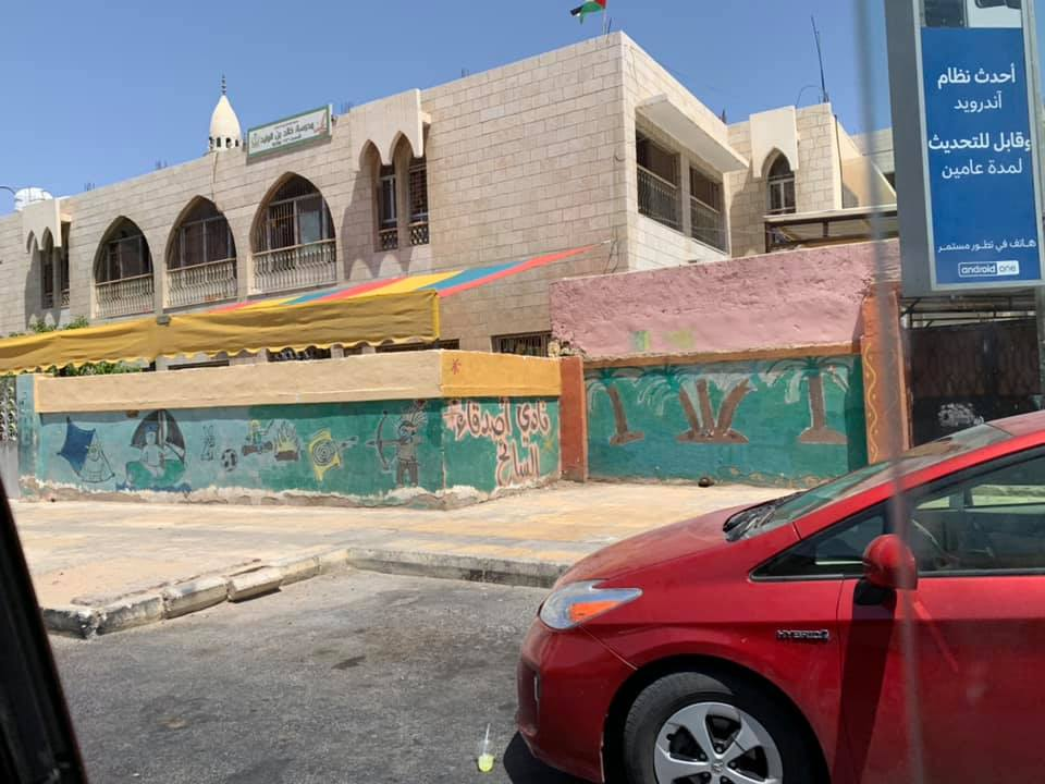 The next morning, we decided to go snorkeling in the Red Sea, so we got to drive through the city again. I am still in love with the colors and artistry along the streets of Aqaba. Photo credit: Moriarty, 2019