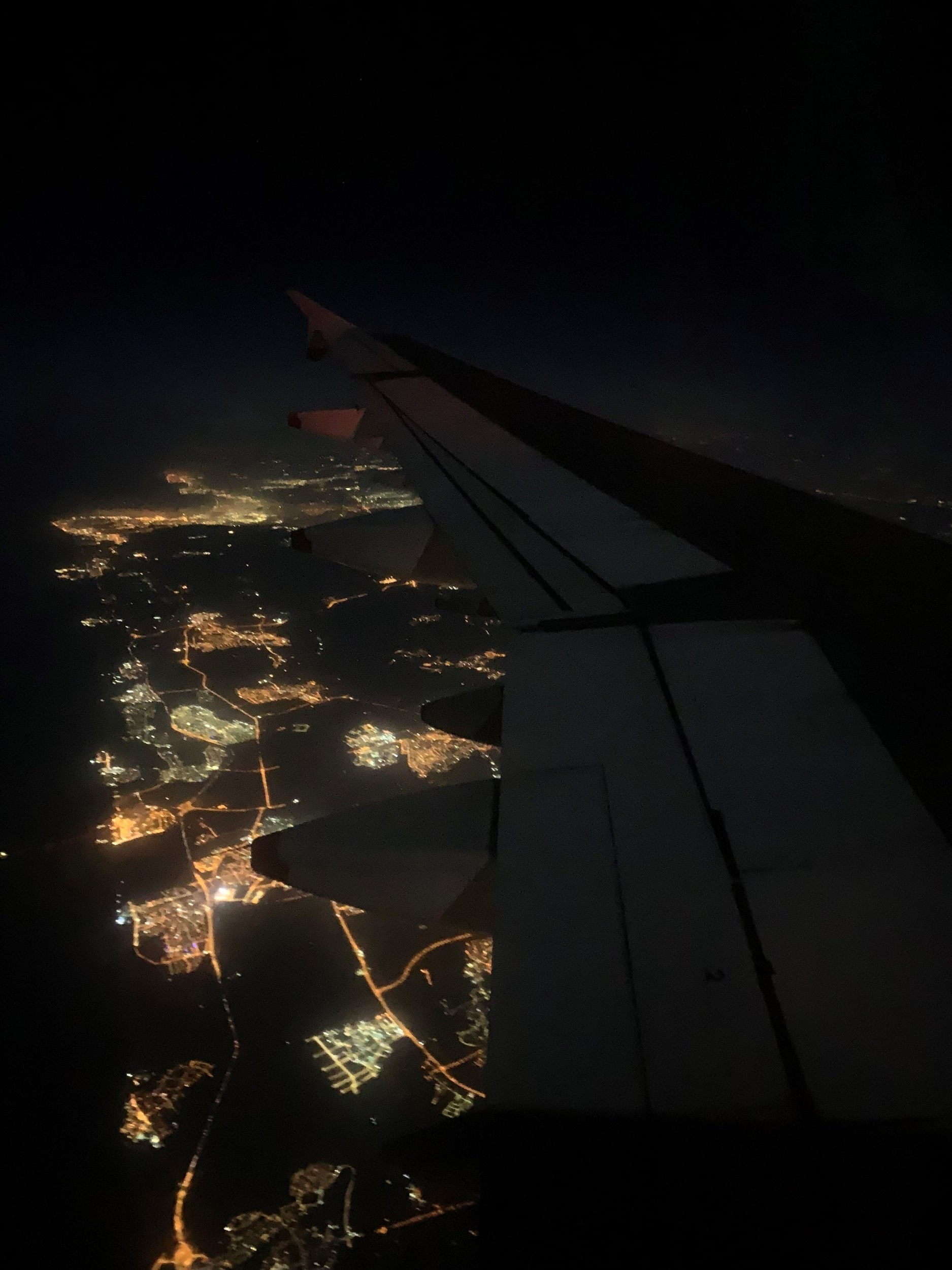 Flying was new to me on this trip. I sure hope I forget the stomach jolts and roller-coaster butterflies, but I know I will never forget the view above Amman. Photo credit: Russo, 2019