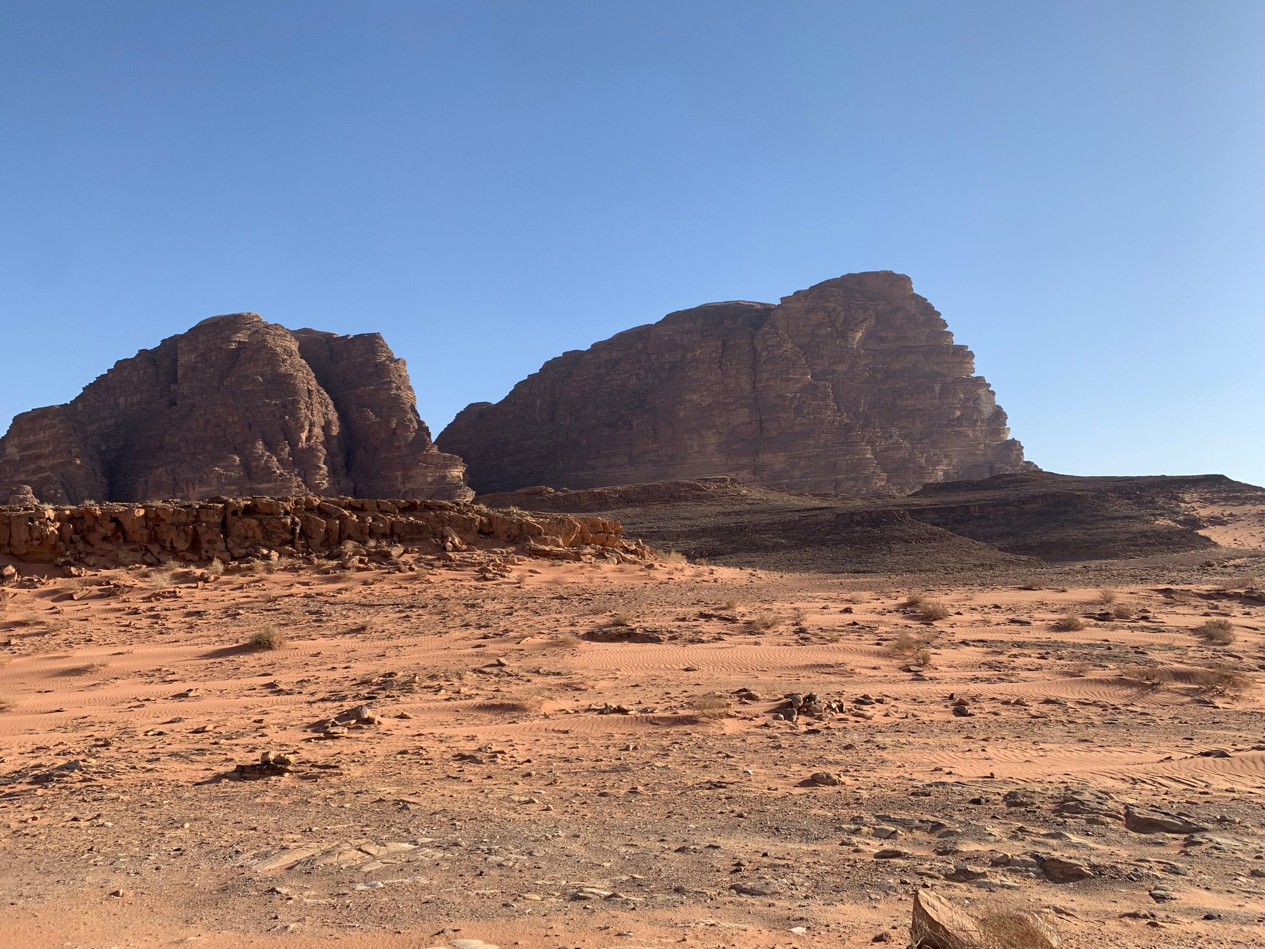 More pictures from the jeep tour in Wadi Rum! Photo credit: Russo, 2019