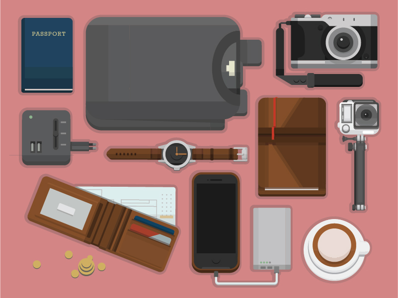 Backpacking Must-haves, Personal