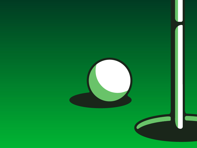 Mixer Mini Golf Game Art, Mixer