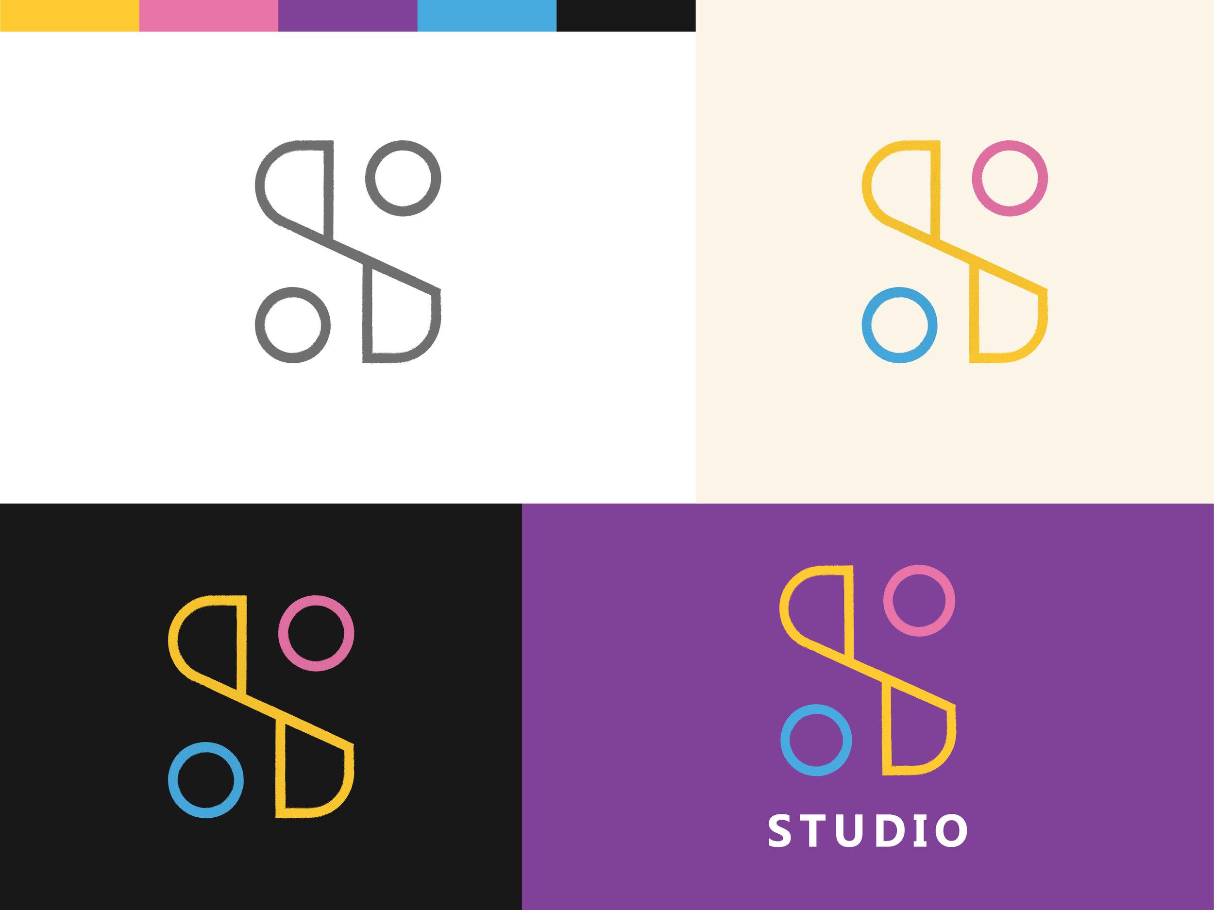 Studio Brand Identity Exploration, Studio