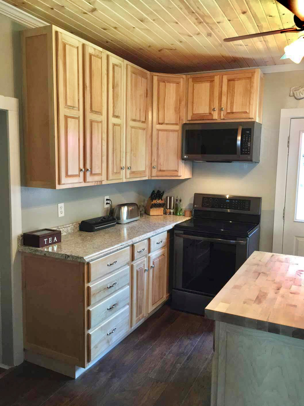 Kitchen Cabinets and Drawers in Maple