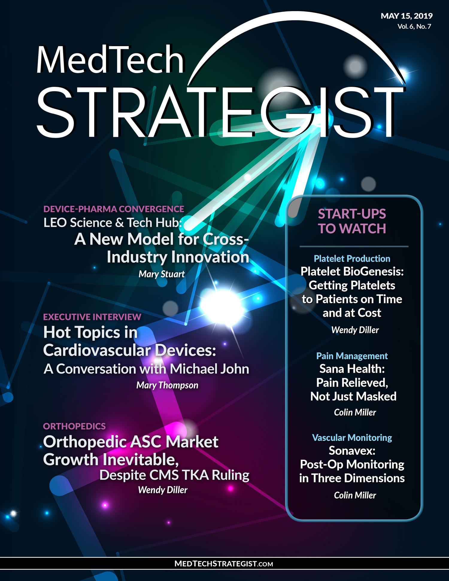 Issue - May 15, 2019 — MedTech Strategist