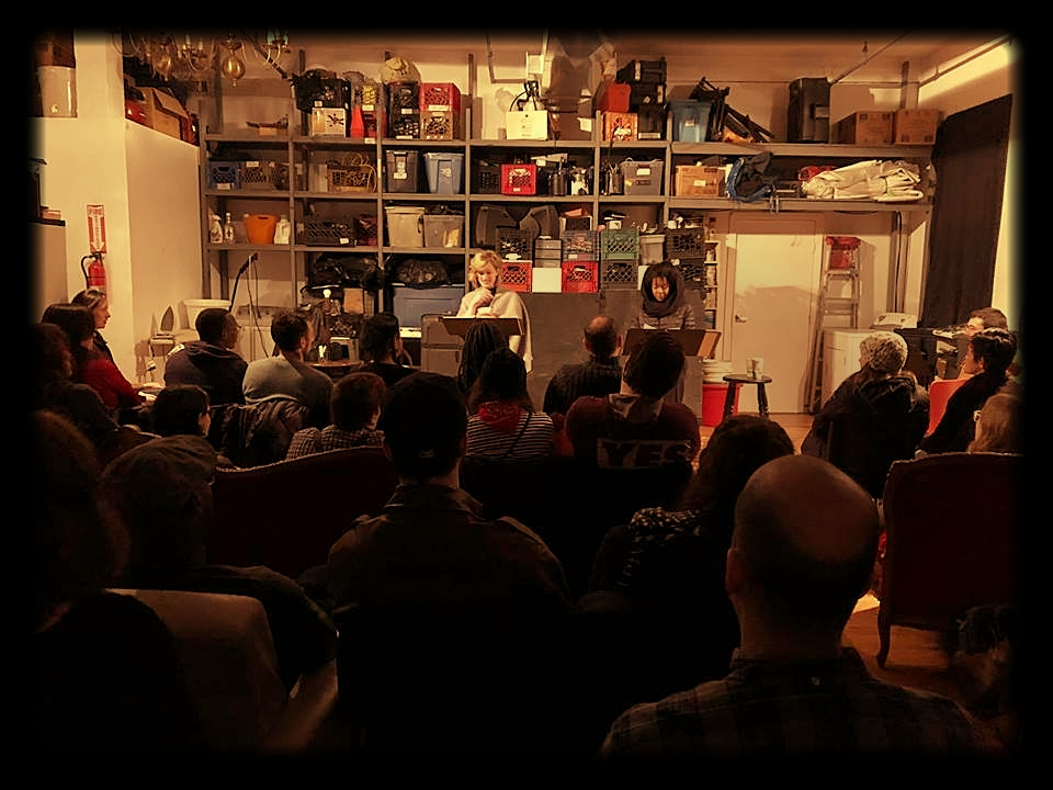 Best Life was part of this year's Starr Reading Series - Best Life is an absurdist play about a woman who can rewind time, but only within the last five minutes. She's a person of color, navigating a world in which she's not sure she belongs, as she contemplates her kinship with the white woman beside her.