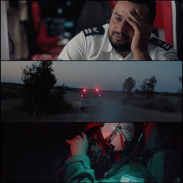 """""""Race Against Time"""" director's cut- a true story of Israel's premiere ambulance response service-  Director @billysreddy   DP @janssenpowers   EP @mattmcl @andrewsimkiss   Post @forager.tv @aliwebb_producer @_denissthemenace_  @afmda  """