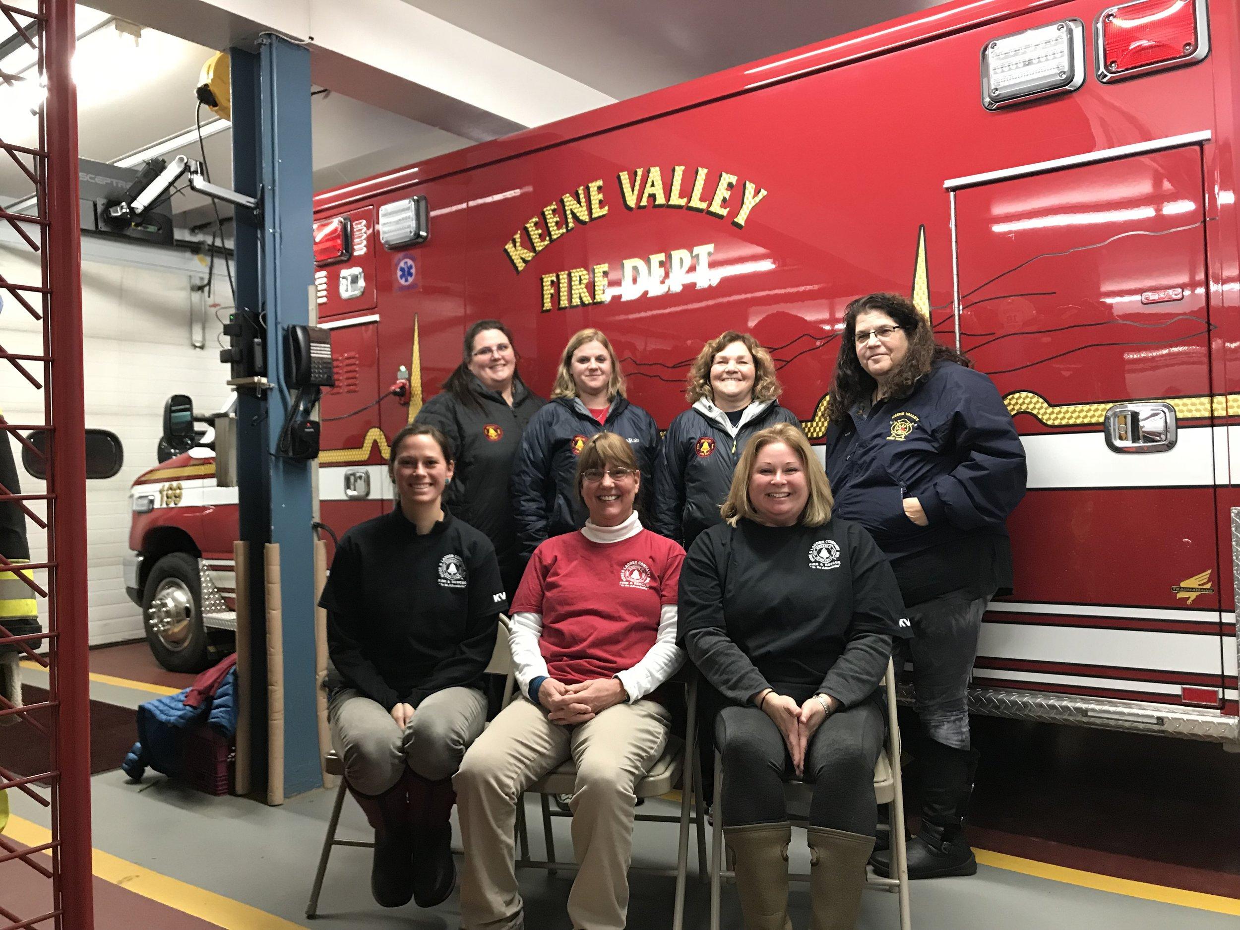 Back row:  Dawn Ormsby, Heather DeZalia, Linda Hudson, Jodi Downs  Front Row:  Erin Pelkey, Kelly Hall, Stephani Tansey