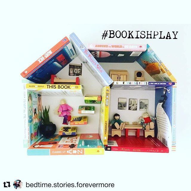 #Repost because we are loving this new hashtag! @bedtime.stories.forevermore with @get_repost #bookishplay
