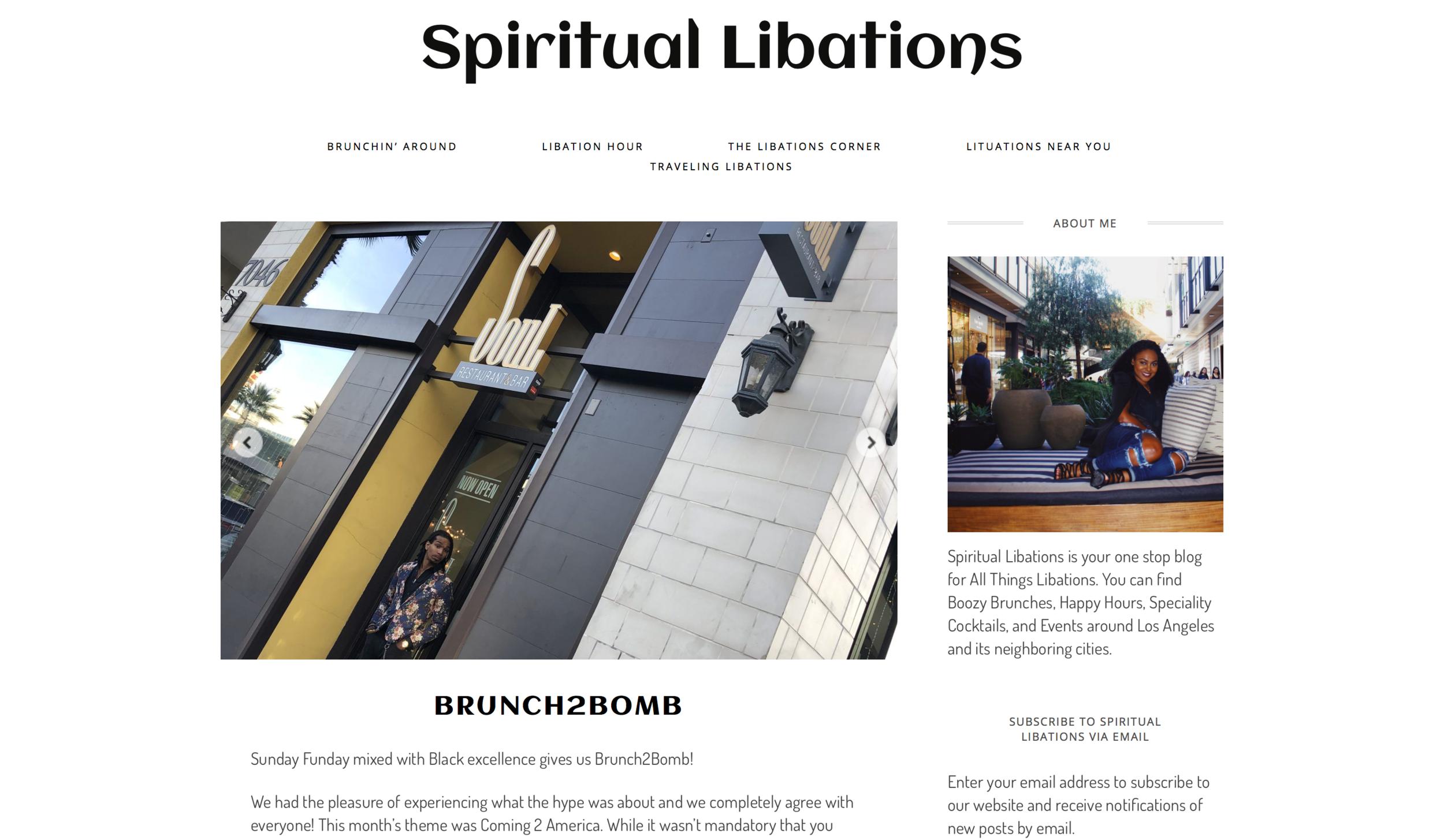 Spiritual Libations - 01.26.2018