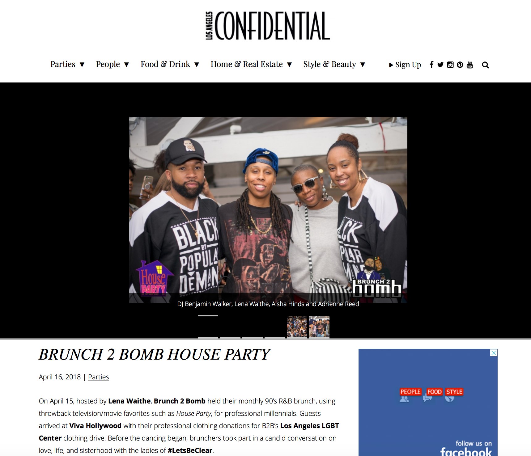 LA Confidential Magazine - 04.16.2018