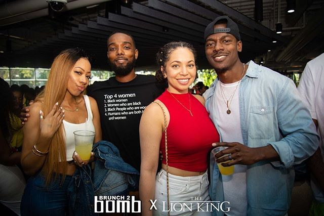 Look out y'all, this #bombsquad is on fire🔥🔥🔥 Hope you and your team are ready for round 2 at this Sunday's Summer Summer Summertime Pop-Up at @theparlorhw! Tag your #b2bsquad • •⠀⠀ Brunch 2 Bomb Summertime Series☀️ Sunday, July 28th, 2019 | Doors open at 11⠀ The Parlor | 7250 Melrose Avenue