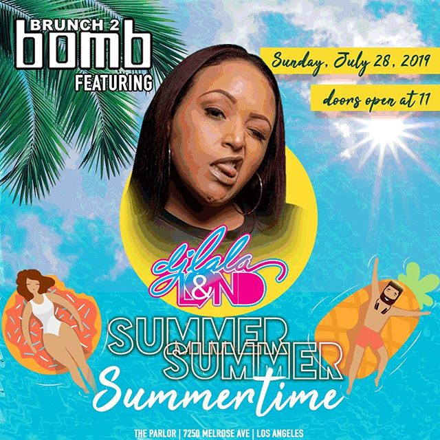 It's showtime! See you today at @theparlorhw for a pop-up party with opening DJ set by a #B2BfamilyOG @djlalaland at 12pm! See you soon! #summersummersummertime #brunch2bomb  Need a ticket?  Same day tickets available at the door.  See a member of our team for assistance!
