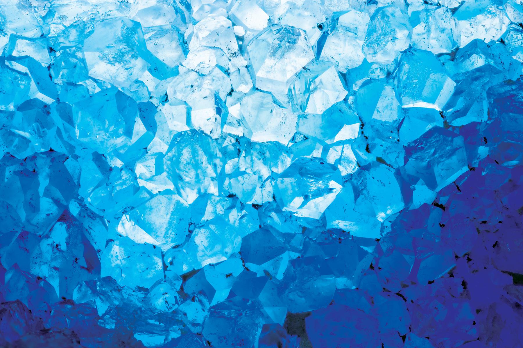 Blue Crystals I