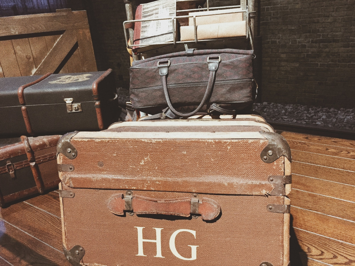Hermione Granger's luggage