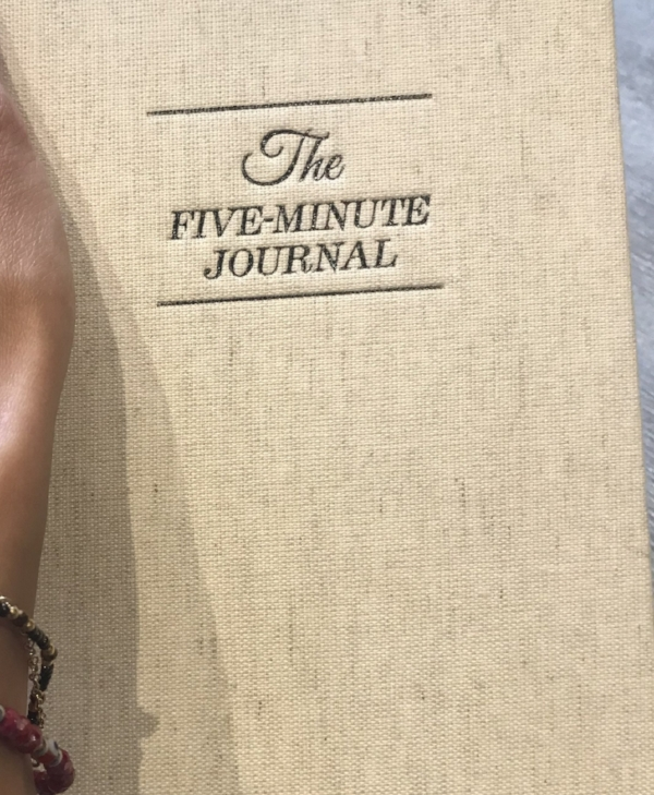 five minute journal for mental health