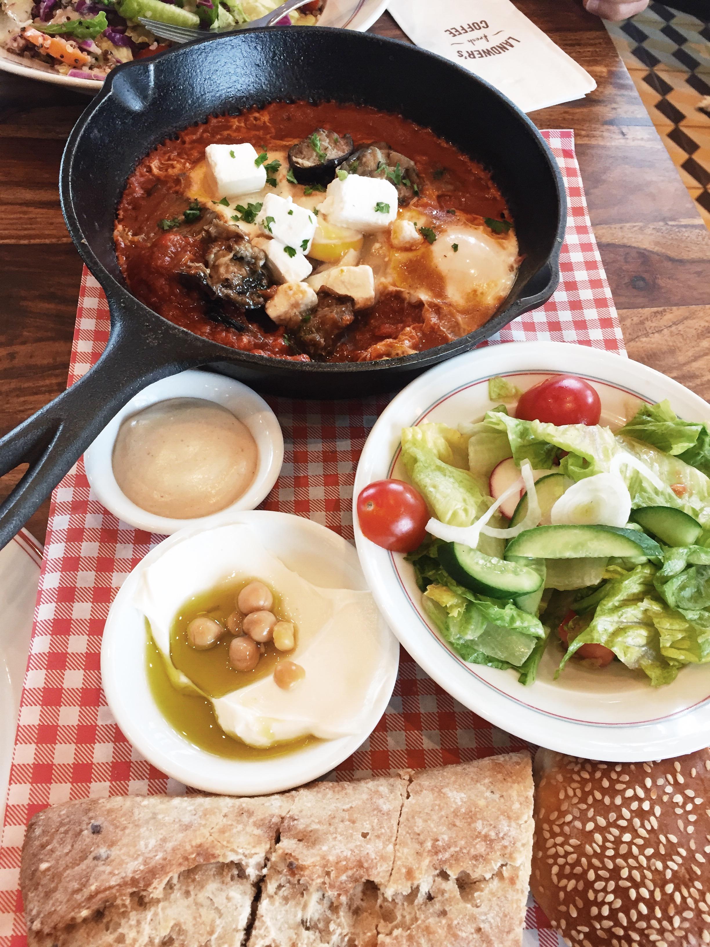 brunch lunch shakshuka Israeli breakfast toronto gta