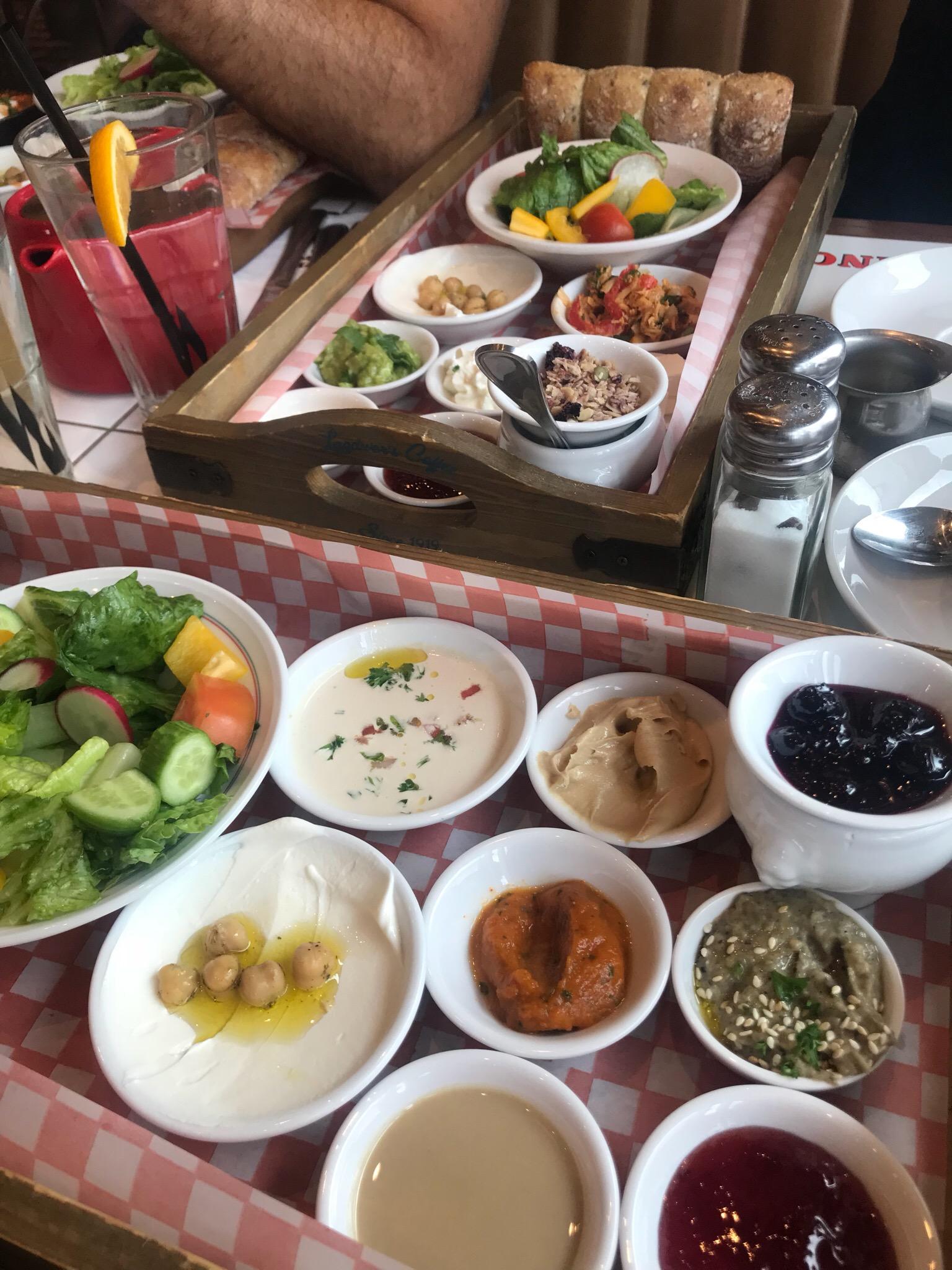 vegan breakfast Israeli toronto gta Thornhill woods healthy brunch