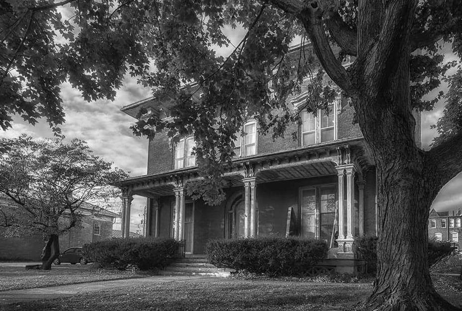 Morgan-Wells Home - c. 1853 - Quincy, Illinois