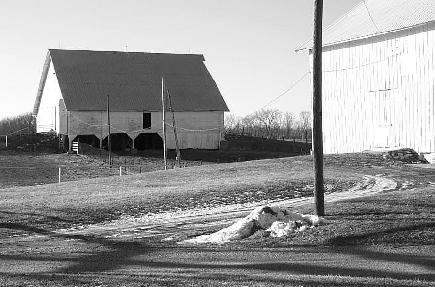 Rock Creek Barn - c. 1865 - Tallula, Illinois