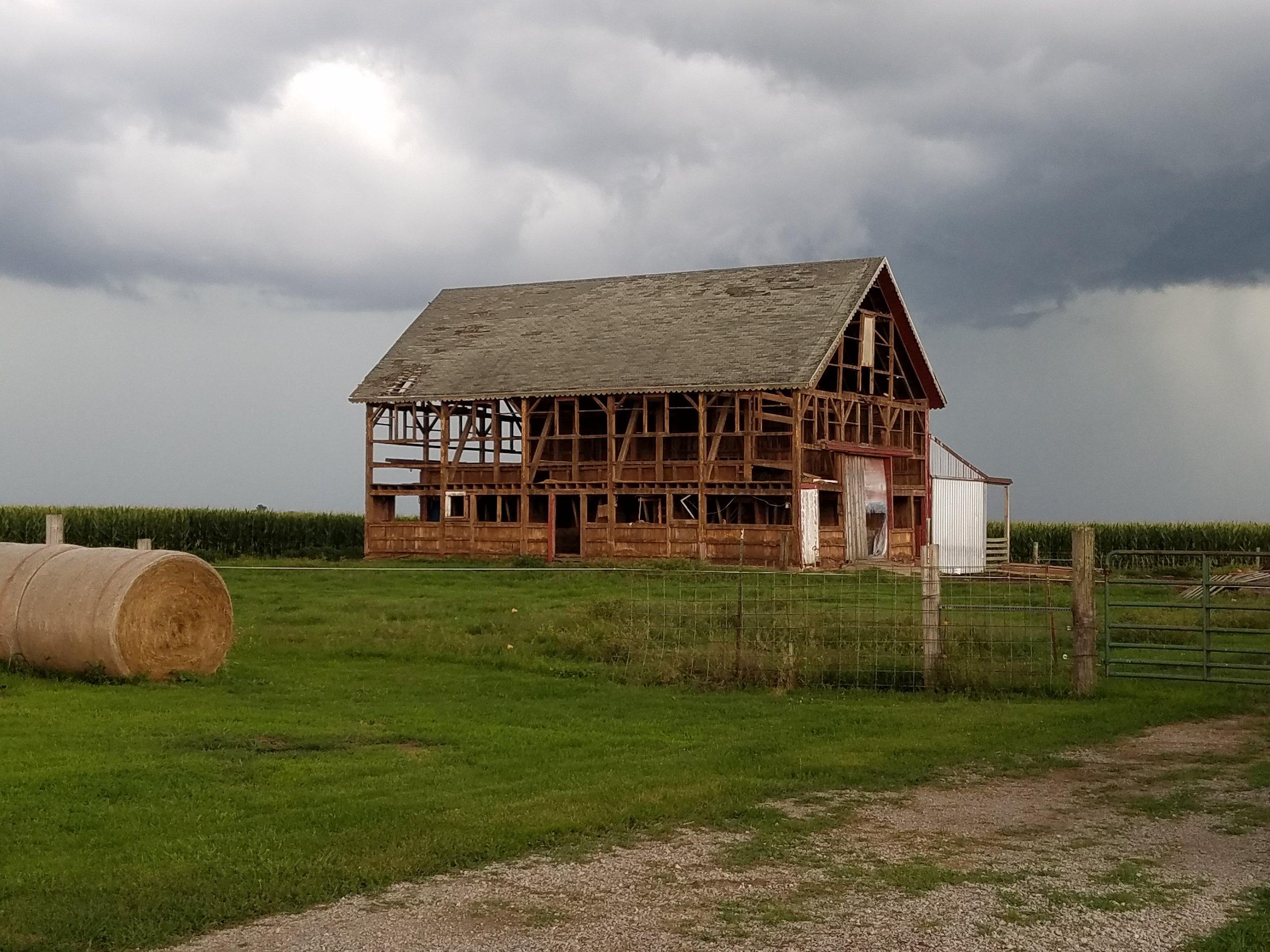 Blakeley Barn - c. 1876 - Kilbourne, Illinois