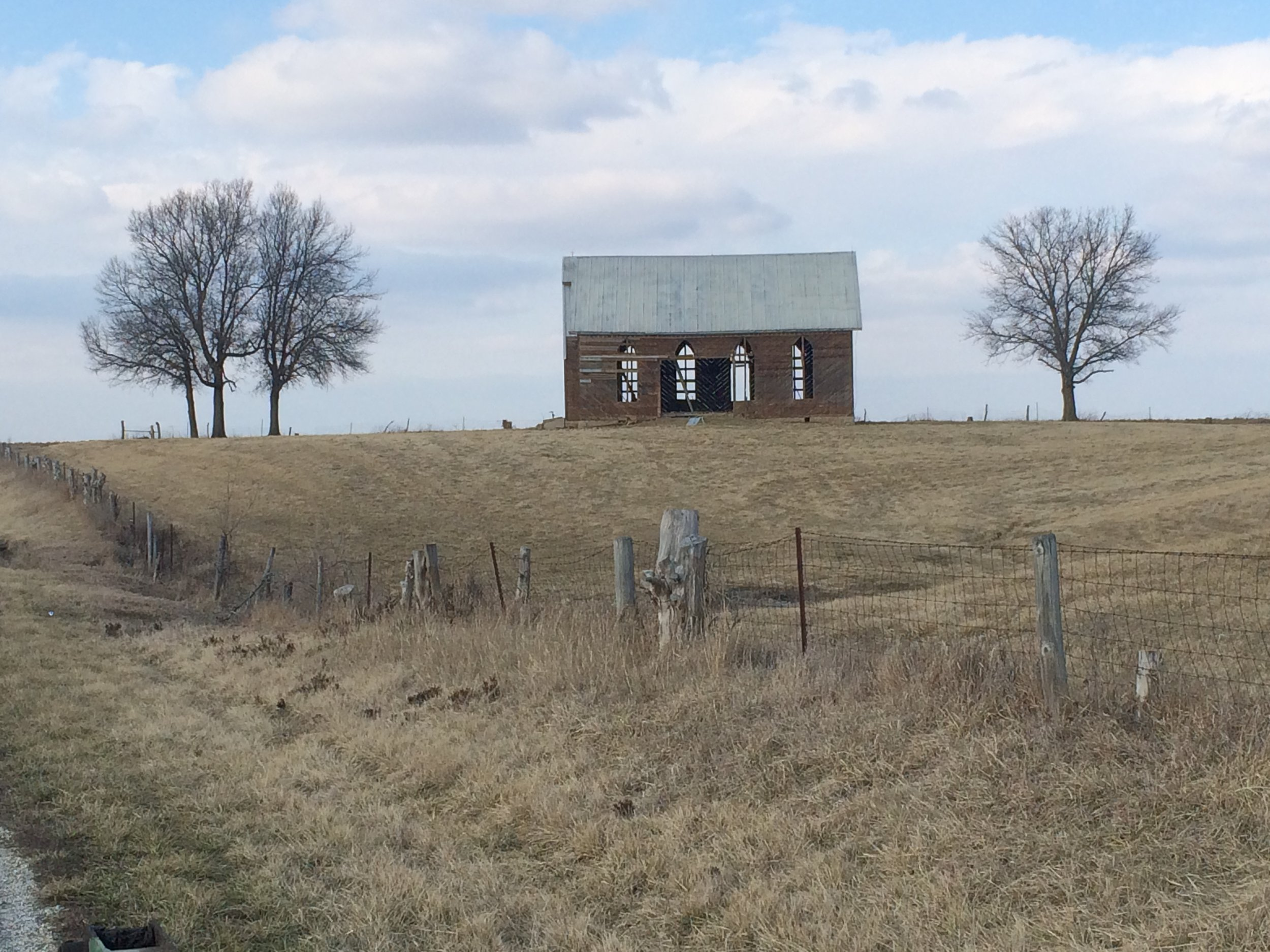 Rohrer Chapel - c. 1876 - Waverly, Illinois