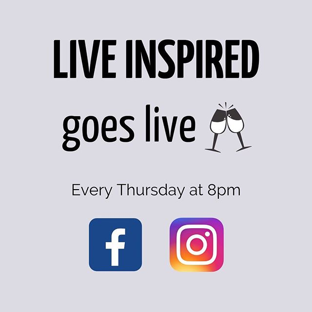 Excited to roll out a new weekly series: Live Inspired goes LIVE! ⠀⠀⠀⠀⠀⠀⠀⠀⠀ Every Thursday night we'll be on Facebook and Instagram at 8pm with a special guest and a glass of wine to talk topics like event planning, being a #momboss, freelancing, #nonprofitlife, and more! ⠀⠀⠀⠀⠀⠀⠀⠀⠀ Tomorrow we'll be clinking glasses with our very first guest @altheberger, an event producer for @witsendproductions. Join us live here or on Facebook at 8pm! ⠀⠀⠀⠀⠀⠀⠀⠀⠀ #liveinspired #blog #eventblog #eventplanner #eventmanager #inspo #inspiration #golive #livinginspired #event #events #eventplanning #eventinspo #eventplannerproblems #nonprofit #nonprofitlife #nonprofitproblems #eventplannerlife #corporatevents #nonprofitevents #motivation #liveyourlife #grateful #wine #girlboss #bossbabe #buffalobossbabe #buffalobossbabes