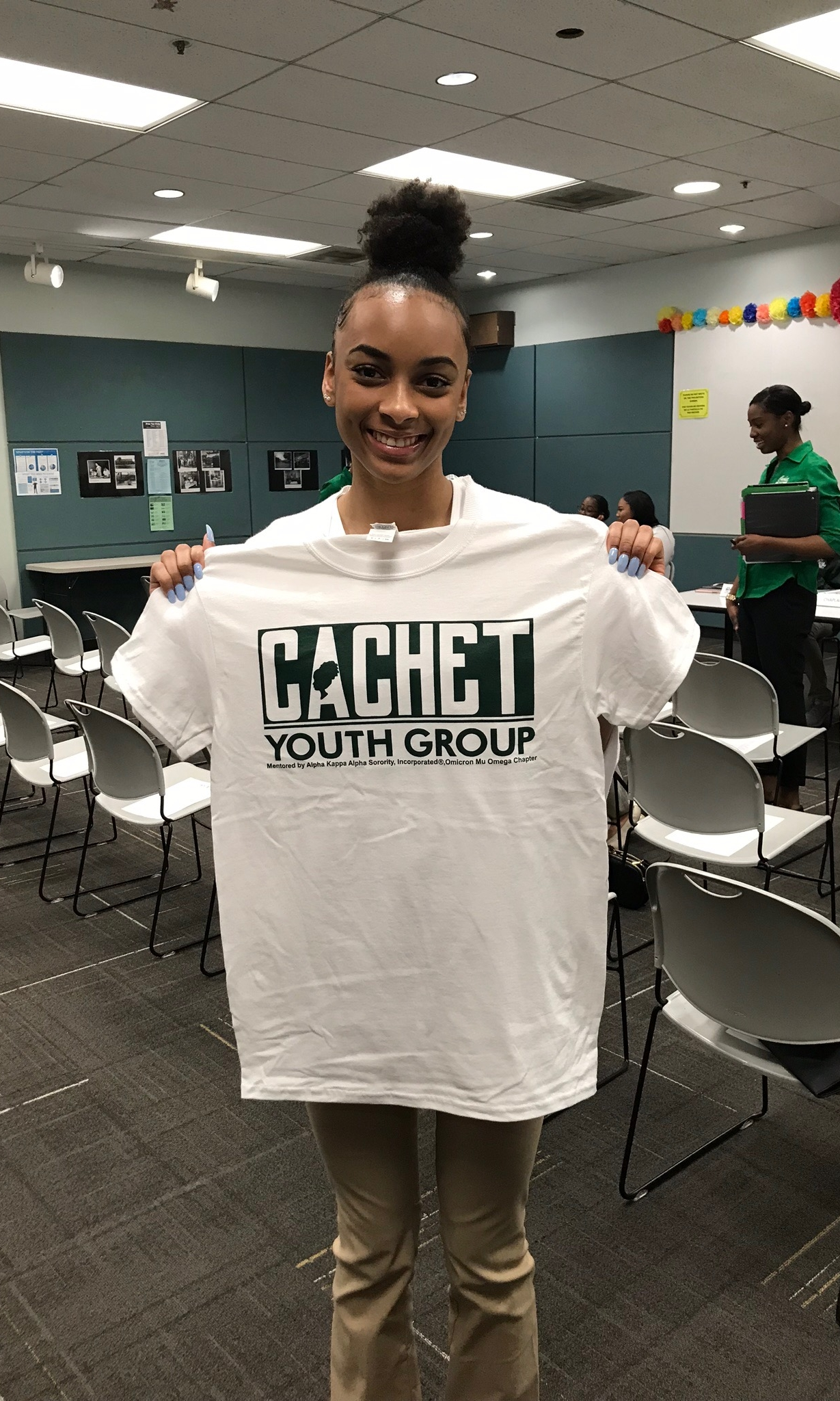 QUALIFICATIONS TO JOIN CACHET: - • Must be in grades 7-12• Must have a grade average of B or better• Must submit (2) letters of recommendations from a school counselor, teacher, minister, employer, adult neighbor or a member of Alpha Kappa Alpha Sorority Incorporated• Annual dues for all members and one time membership fee for new members.