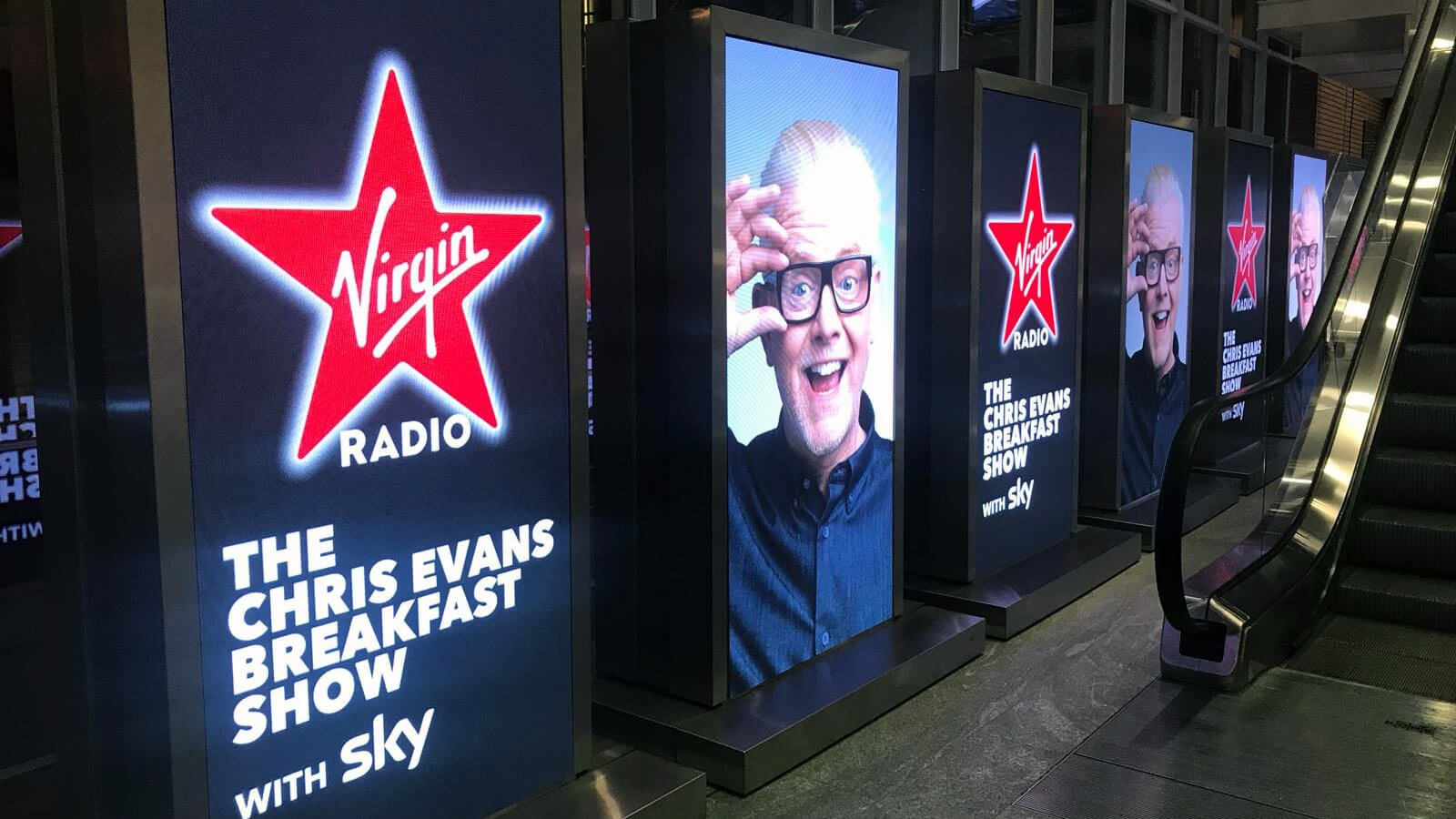 Video production company in London filming Chris Evans radio