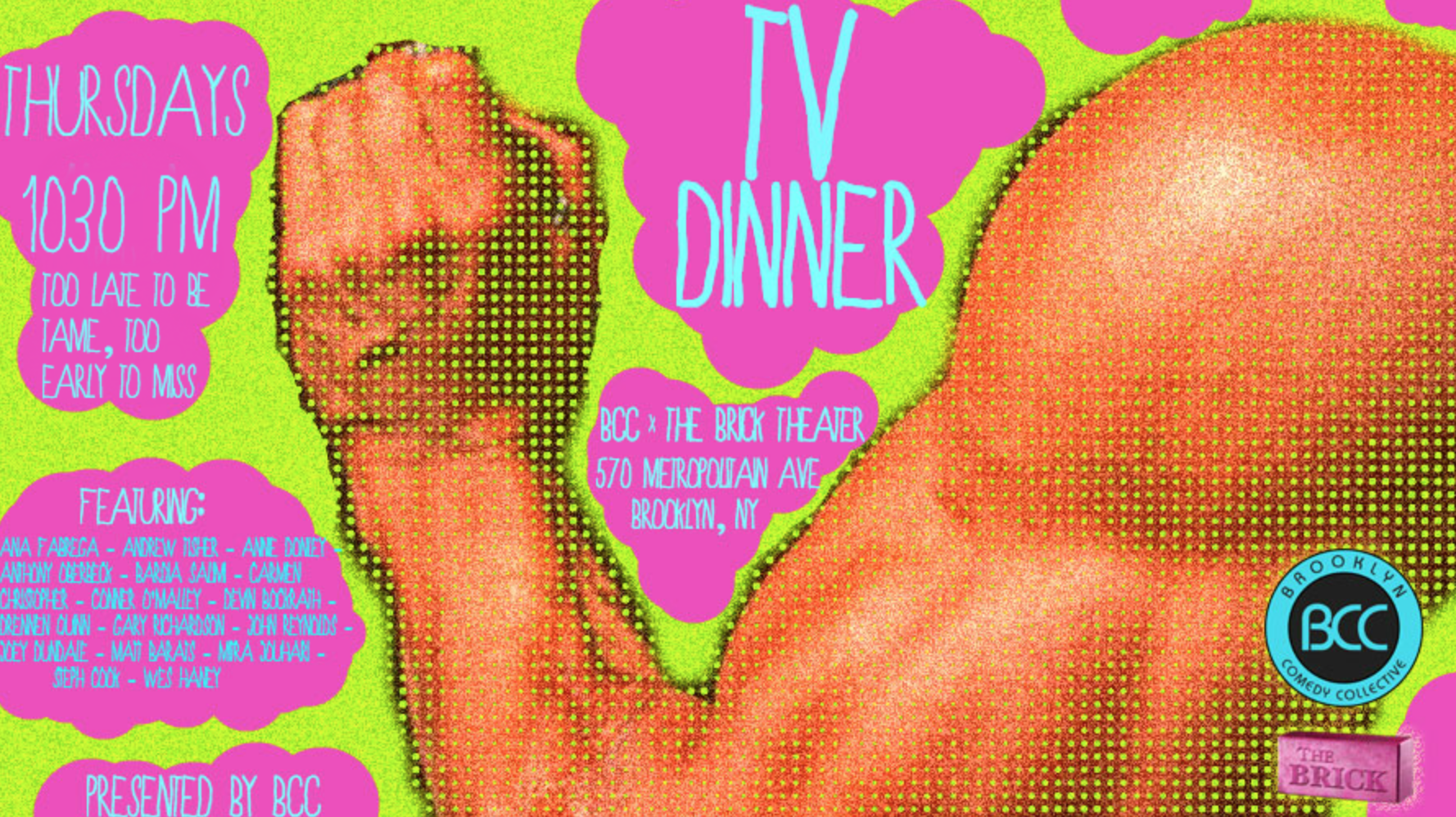 TV dinner brooklyn comedy collective