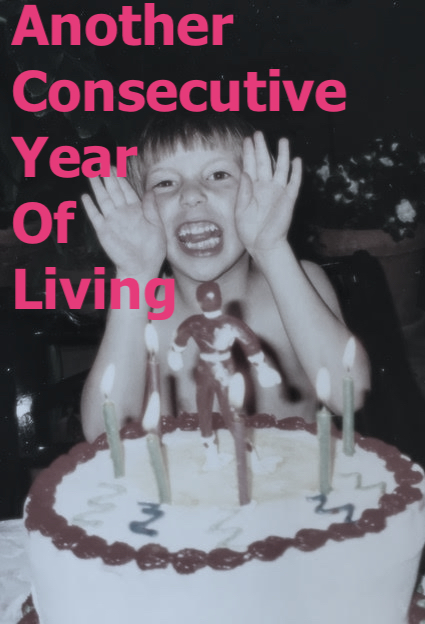 - Another Consecutive Year of Living(ACYOL) is a serial birthday play about Evan Garrett's 29th year on this planet. Starting on May 12th, 2019, Evan will write and perform a 30-minute play every week to illuminate the events that occurred that week. In 2020, for his 30th birthday, he will perform all 48 plays in one 24-hour event. The goal: create a process piece communicating how one person can change over the course of 52 weeks.For Evan, this epic process is a question about if he can consistently make art he believes in when confronted with the repetition of life. Will this play light a path for Evan to continue on? Or will it act as a love letter saying good-bye to a dream-- exhausting the creative air from within him and reifying himself to the endless excel sheets on his screen?