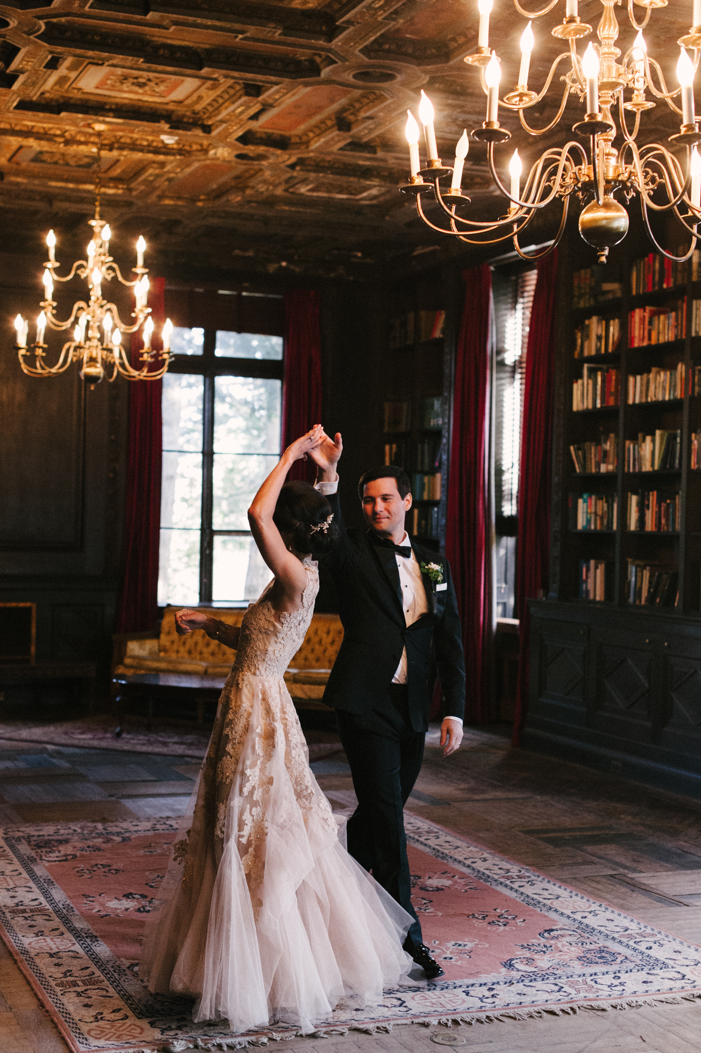 serah + phillip - The W. B. Thompson Mansion:  Alder Manor