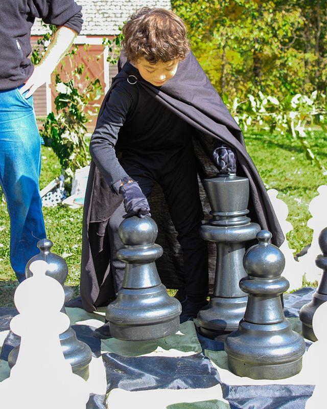 4 days until The Medieval Faire! . Challenge a friend in giant chess! . Link in bio⁣ ⁣. 🐲🏰 ⁣ ⁣. #putneyvt #discoverputney #tgsmedieval #thisisvt