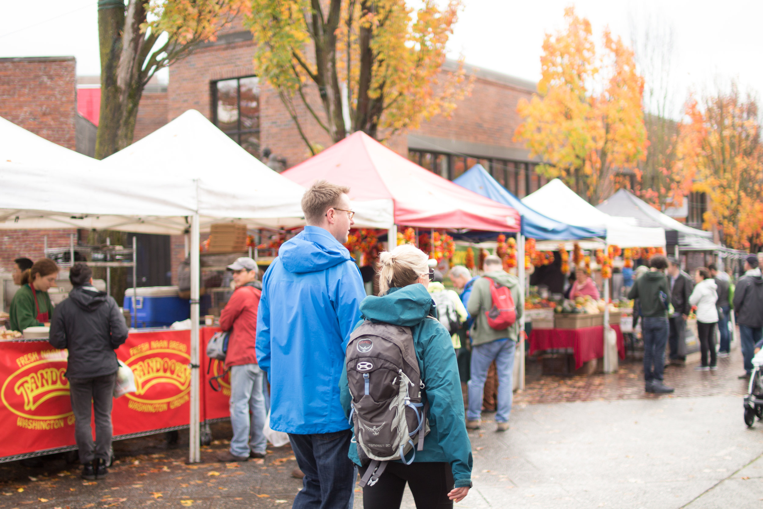 Walk-a-Mile Immersion at the market