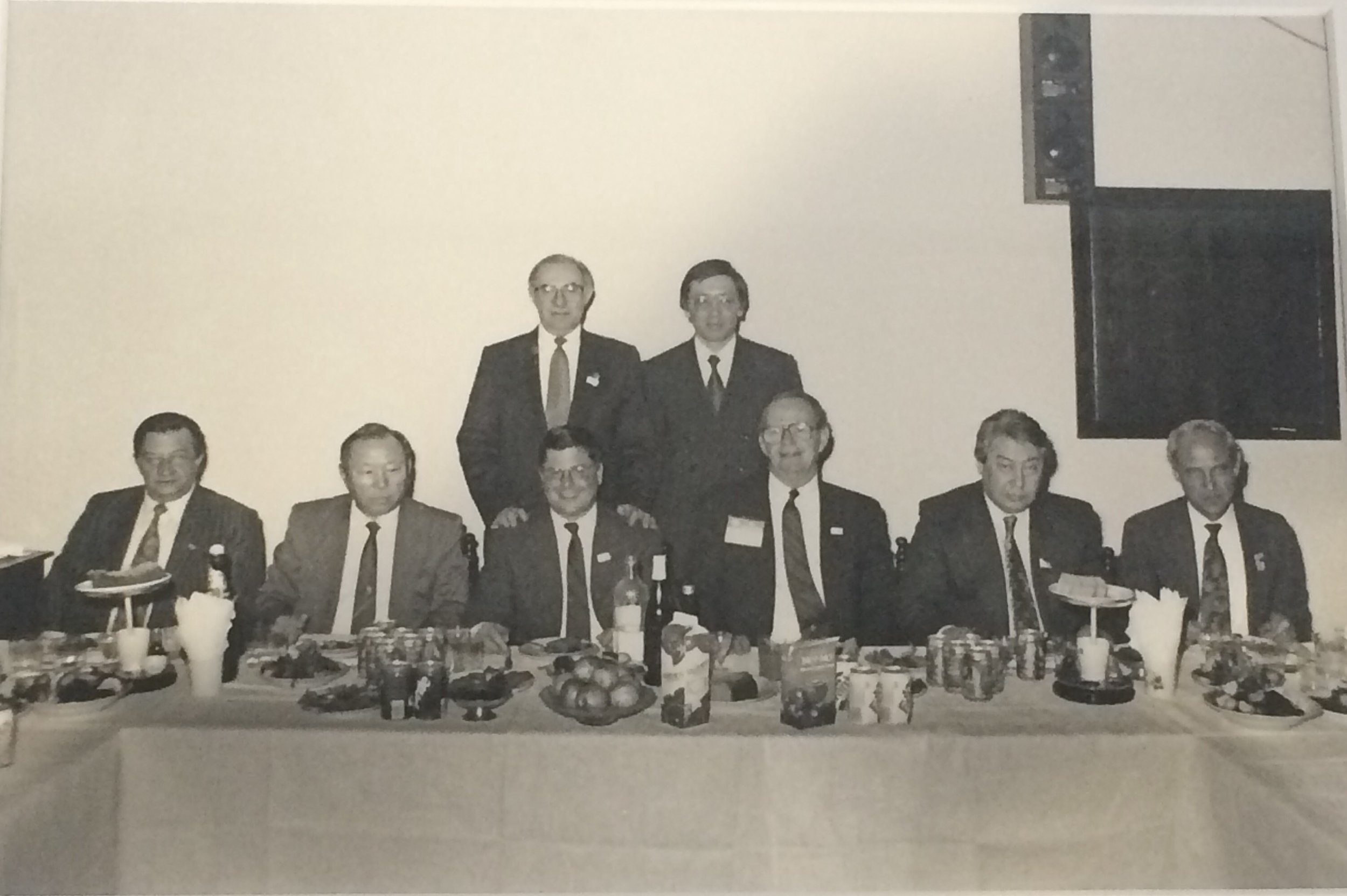 In March 1993, Dan Witt signed cooperation agreements with Russia's Ministry of Finance and Kazakhstan's Ministry of Finance to create ITIC. Bill Frenzel also participated in these missions and became ITIC's Founding Chairman of the Executive Committee.