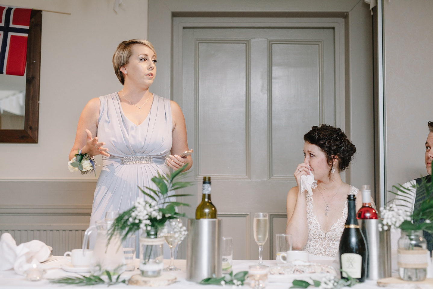 Maid of honour speech at Whirlowbrook Hall
