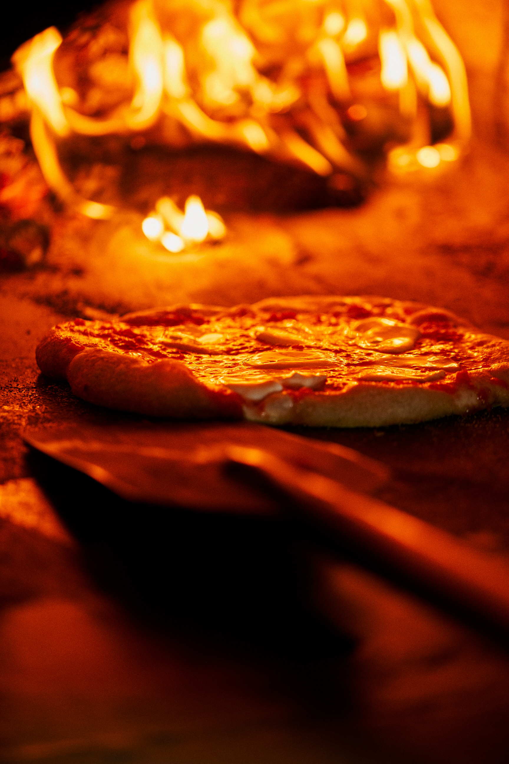 PIzza in Woodfire Oven