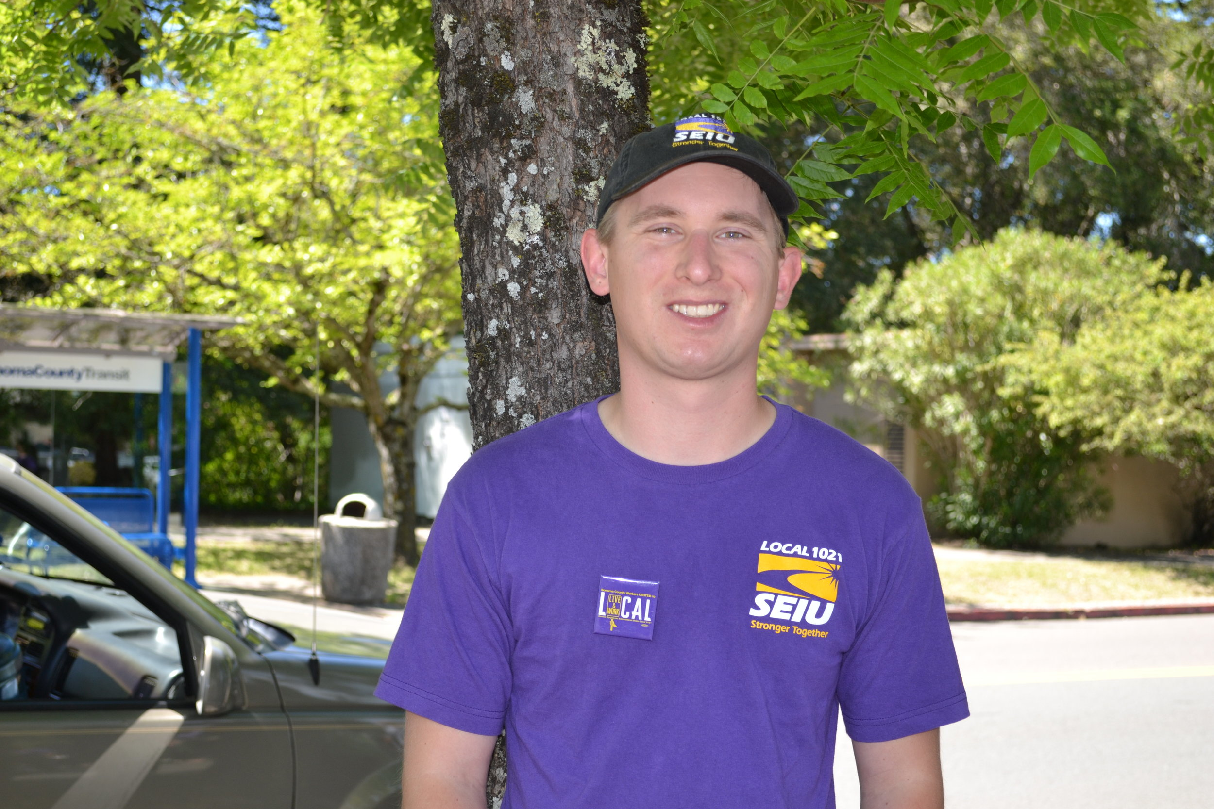 SEIU 1021 member Michael Stanford is a Park Aide in Sonoma County who keeps the parks clean, sells passes, and educates visitors on Sonoma County's natural resources