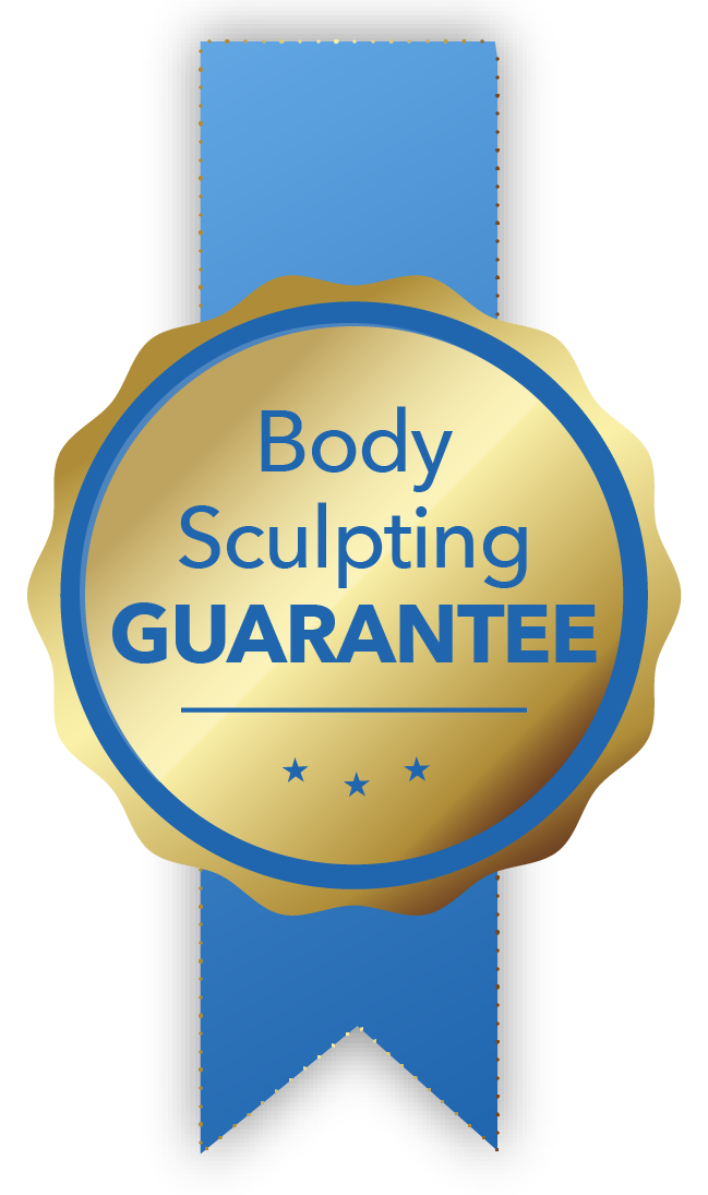 Dr. Halliday's CoolSculpting guarantee is to either retreat the area i if you are not satisfied  or to correct it with Lipo Suction.