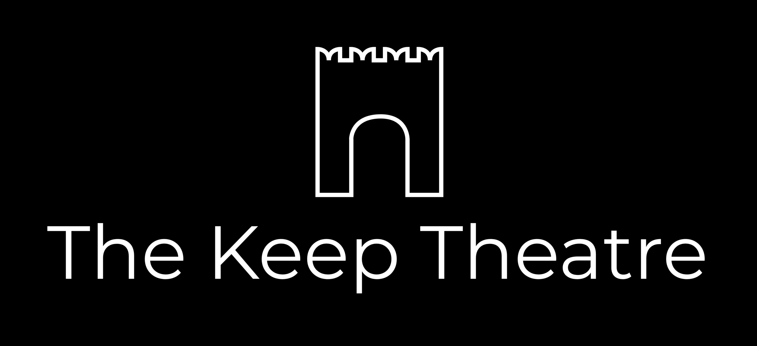 The Keep Theatre-logo-black:whiteFULL5000.png