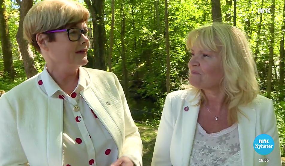 Kristin Ørmen Johnsen (H) og Kari Kjønnås Kjos (Frp).