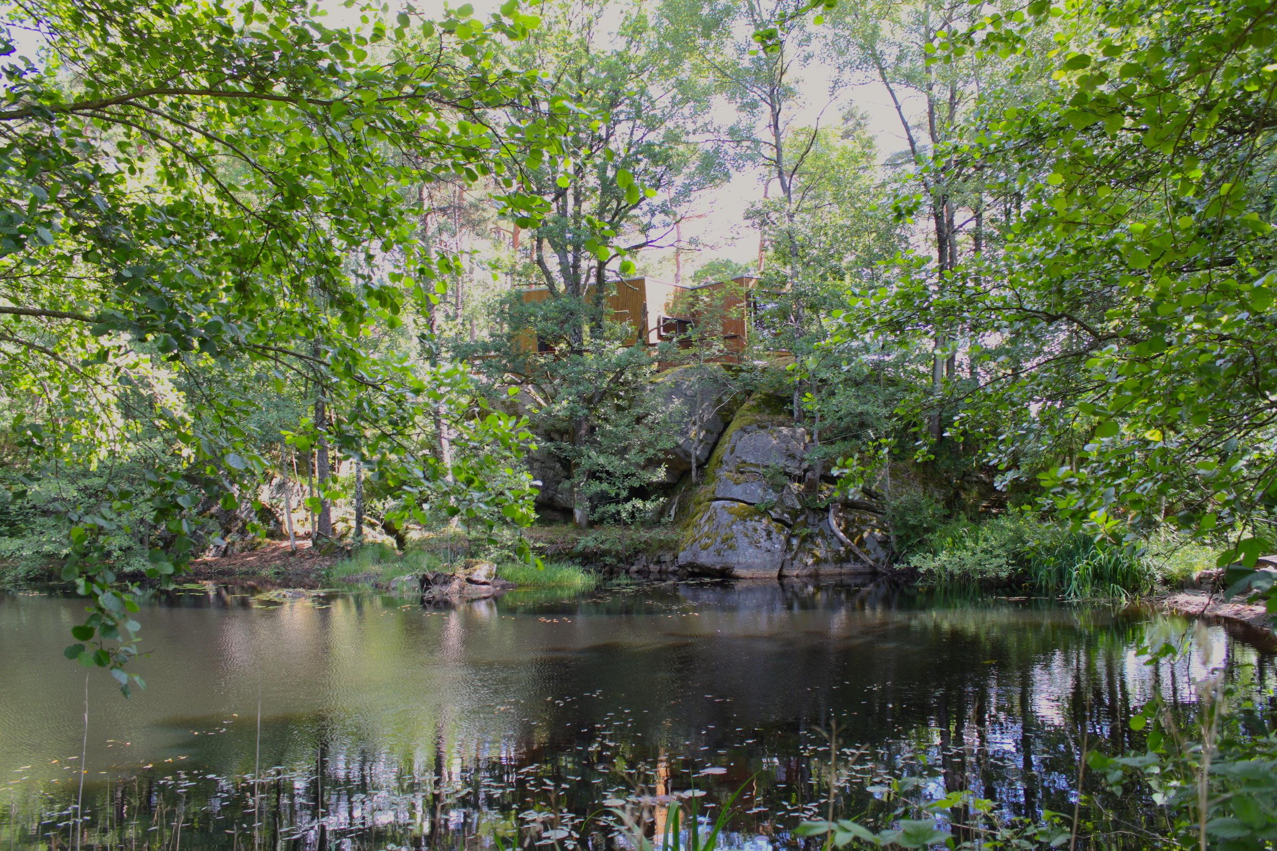 Hytta ved dammen