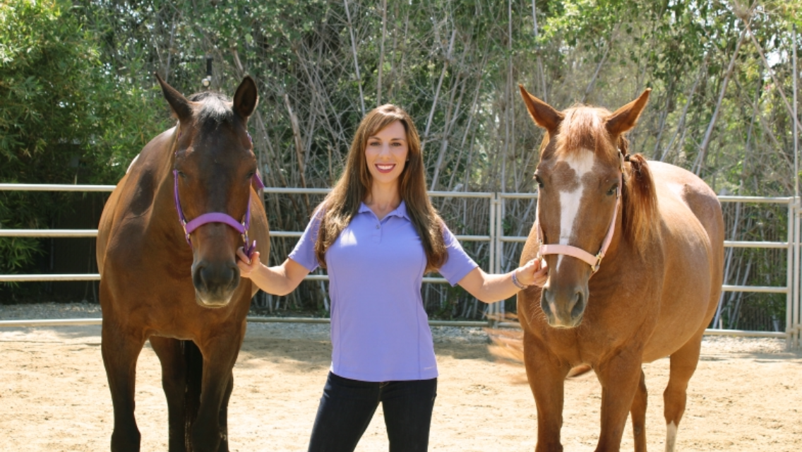 Equine Assisted Psychotherapy with Tiffany