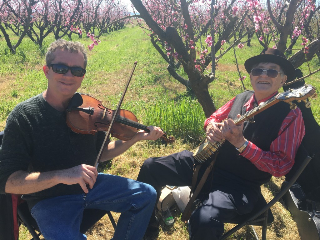 Our friends from Mt. Diablo String Band