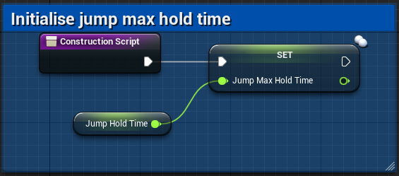 Fig 11 -  Set Jump Max Hold Time
